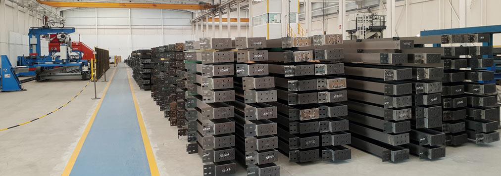 Almacén Producción Estructuras Metálicas EMCASA