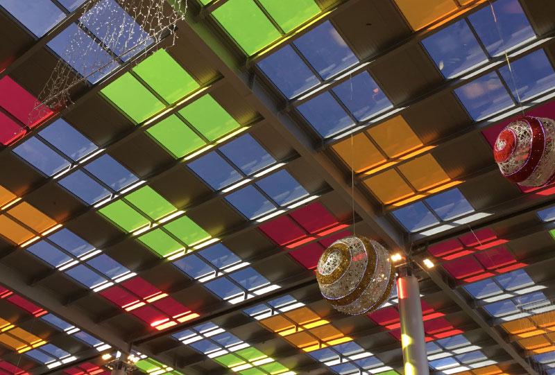Centro Comercial Alisios Cubierta