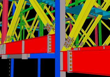 Detalle Plano Estructura Metalica