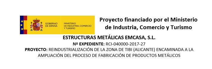 Proyecto financiado por el Ministerio de Industria, Comercio y Turismo
