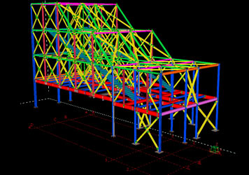 Plano Estructura Metalica